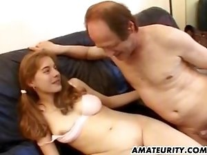 Young amateur girlfriend anal with facial cum