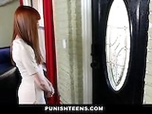 PunishTeens - Hot Teen Roughed Around And Fucked