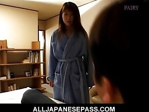 Ayana Mochida with panties in her mouth is st